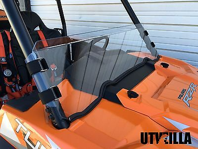 RZR Half Windshield HARD COATED 900, 1000, Turbo XP XP4 4 Polaris UTVZILLA