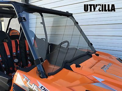 "TINTED RZR Full Windshield 900, 1000, Turbo Polaris 3/16"" Polycarbonate"