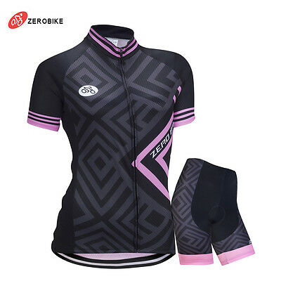 Road Bike Clothing Kit Women's Bicycle Clothing Set Cycling Jersey Shorts Suits