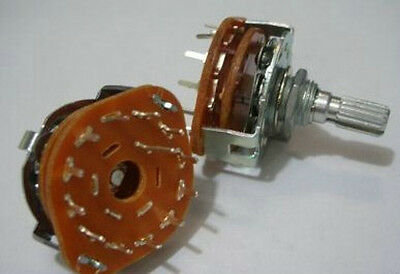 1pc Rotary Switch Potentiometer 1 Pole 12 Position,12Ps