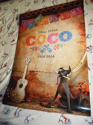 "Walt Disney Pixar COCO official movie poster one sheet DS 27""x40"" New 2017"