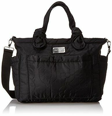 Marc by Marc Jacobs Pretty Black Eliza Baby Diaper Bag Tote New With Tag $298.00