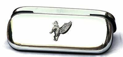 Kingfisher Glasses Spectacle Case British Bird Nature Gift FREE ENGRAVING