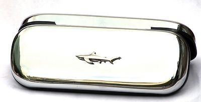 Shark Case & Pen Ball Point Scary Sea Fish Gift FREE ENGRAVING