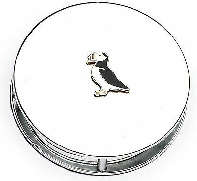 Puffin  Enamel Emblem Magnifying Reading Glass Office Desktop Gift Present 289