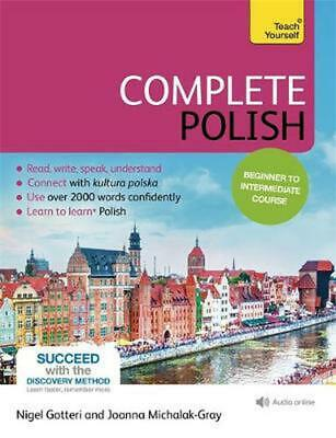 Complete Polish Beginner to Intermediate Course: (Book and audio support) by Joa