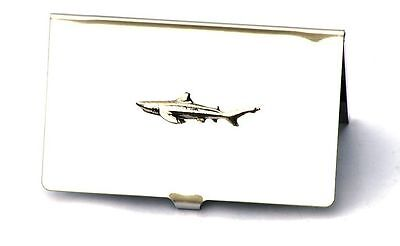 Shark Fish Credit Card Metal Wallet Marine Present