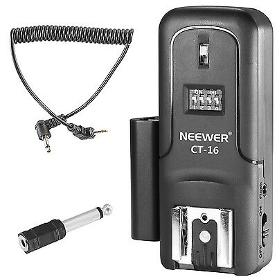 Neewer Wireless Radio Flash Speedlite Studio Trigger Receiver for Canon Nikon