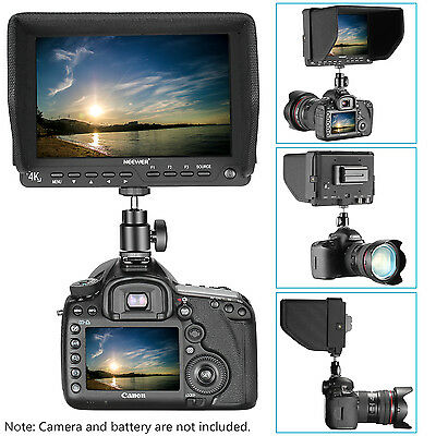 Neewer 7 inches 4K HD On-Camera Field Monitor for Canon Nikon Sony Olympus