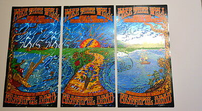 Grateful Dead - Fare Thee Well -  Chicago - Foil Artist Edition - Mike Dubois