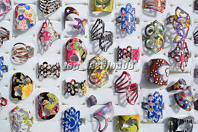 10pcs Wholesale Jewelry Lots Mixed Style Tibet Vintage Silver P Rings Free Ship