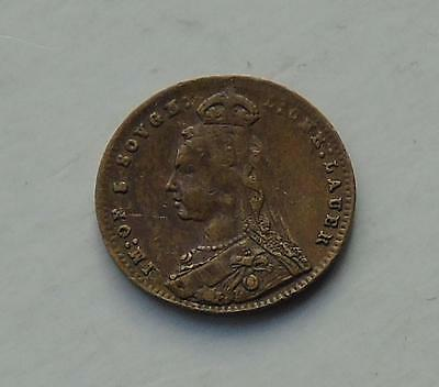 Queen Victoria Jubilee Model 5 Sovereigns Nurnberg 1897, 12mm Token, Toy Money