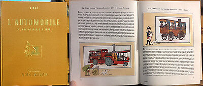 Chromos Tintin - Herge - L'automobile T1 - Complet - 1953