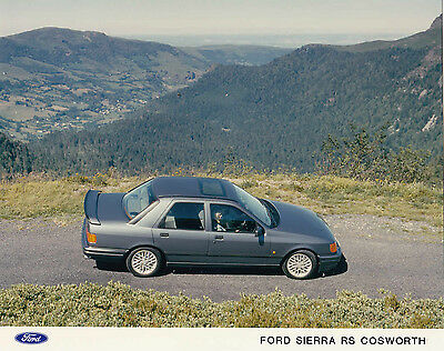Ford Sierra Rs Cosworth, Colour Period Photograph.