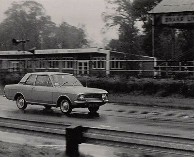 Ford Cortina Mk.2 Two Door Saloon, Period Photograph.