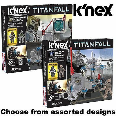 KNEX - TITANFALL Building Set /w Limited Edition Figure - Assorted Sizes