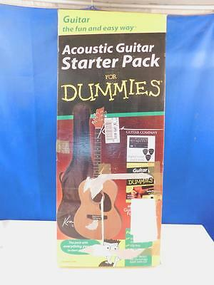 For Dummies K394D - Akustikgitarre Starterpack Einsteiger-Set Musik Instrument