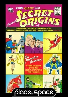 Dc Universe Secret Origins - Hardcover