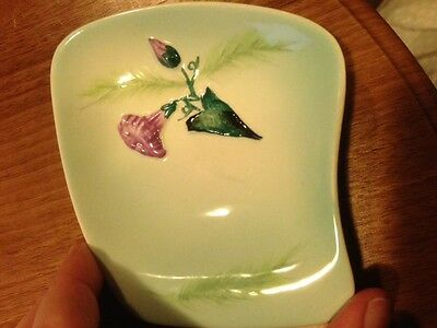 Carlton Ware bowl Convolvulus Morning Glory flower, pin dish 1950s 50s vintage