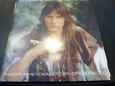 "Clannad ""Robin (The Hooded Man) 7"" Single Robin of Sherwood TV Series Theme"