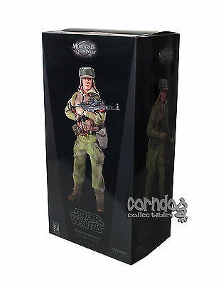 1:6 Star Wars Sideshow Figure Rebel Commando Endor Infantry Sixth Scale 12in