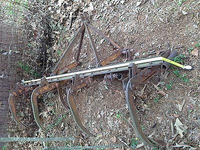 Barn Find! 5 1/2 Foot Wide Spring Tine Harrow Arm Scraper Used Make any Offer!