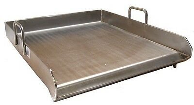 Heavy Duty Stainless Steel Single Burner Griddle Comal Flat Top 16 x 18 inch NEW