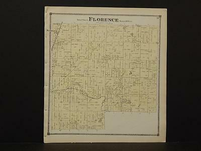 Michigan, St. Joseph County, 1872, Florence Township Y9#15