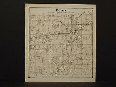 Michigan, St. Joseph County, 1872, Colon Township Y9#17