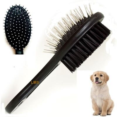 Double Sided Pet Grooming Brush Dog Cat Puppy Long & Short Hair Shedding Tool