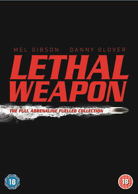 Lethal Weapon Collection DVD (2005) Chris Rock, Donner (DIR) cert 18 4 discs