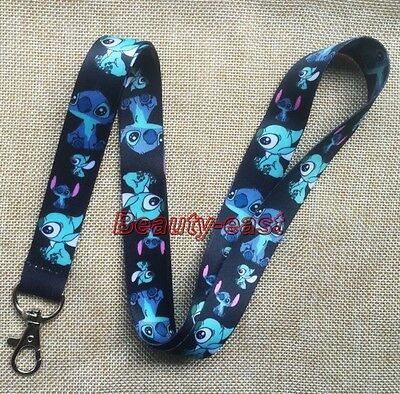 Lot Cartoon stitch mobile Phone lanyard Keychain straps charms Gifts P182
