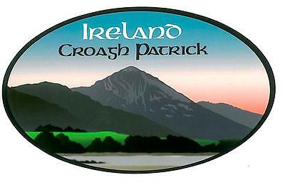 Croagh Patrick Irish Embroidered Patch Badge - Scenic View Westport Mayo