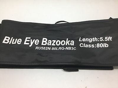Miya Epoch  Blue Eye Bazooka  80Lb  Rod  Roller Guides 5 Ft 6