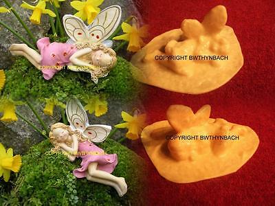 New Rubber Latex Mould Moulds Mold To Make Sleeping Fairy Faerie 2 Designs