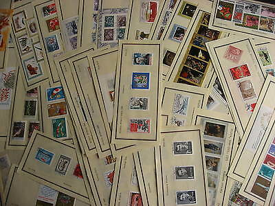RUSSIA 50 mostly different 60s & 70s era sets,SS on approval pages check m out!