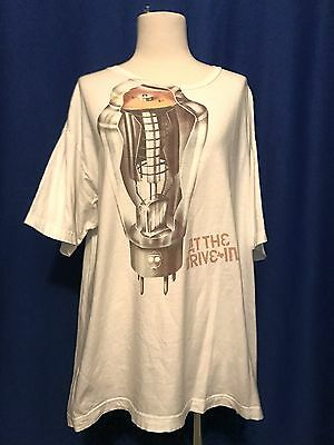 At the Drive In TUBE/AMP TSHIRT shirt concert XL Mars Volta NICE