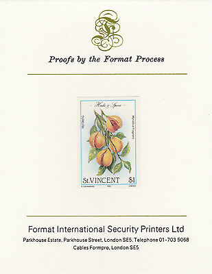 St Vincent 3368 - 1985 Herbs & Spices $1 on FORMAT  INTERNATIONAL  PROOF  CARD