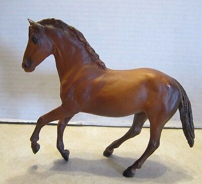 "Vintage Breyer Molding Co. Brown Pony Horse Walking 6"" X  7"""