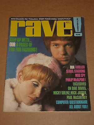 Rave Magazine November 1967 Scott Walker cover (Procol Harum/Mick Jagger)