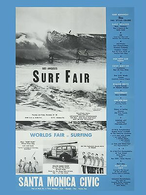 "The Beach Boys Surf Farm 16"" x 12"" Photo Repro Concert Poster"