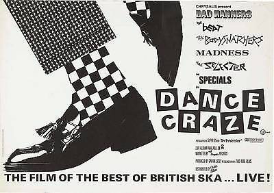 "The Specials Dance Craze 16"" x 12"" Photo Repro Concert Poster 2"
