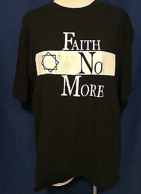 vintage 1990's Faith No More We Care Alot CONCERT TSHIRT shirt XL