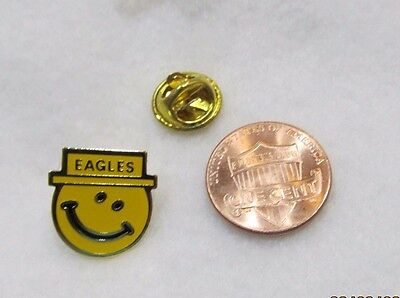 Smiley Face Eagles Faternal Order of Eagles USA  Lapel Pin Pinback