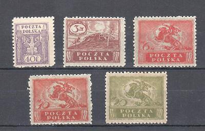 Poland, 1920 issue MNH, **, VF