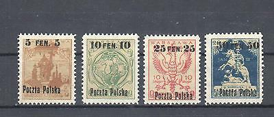 Poland, 1918 issue MNH, **, VF exp. A.Sader