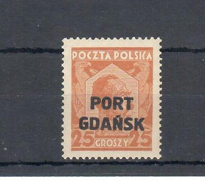 Poland, 1929 issue Port Gadansk MNH, **