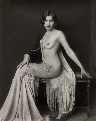 A4 Vintage Glamour Photograph (Adrienne Ames). Modern Reproduction.