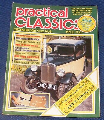 Practical Classics December 1981 - Buying An Austin Seven