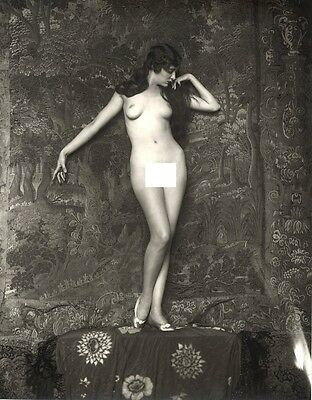 A4 Vintage Glamour Photograph (Catherine Moylan). Modern Reproduction.